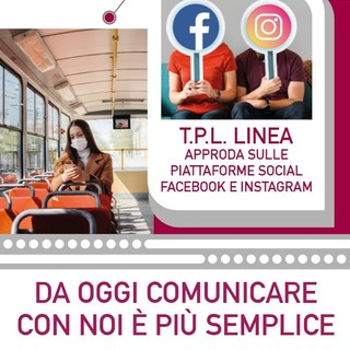 TPL Linea, nuova pagina Facebook e account Instagram