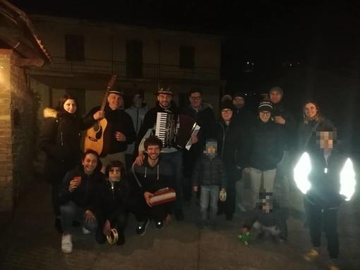 Foto tratta dalla pagina Facebook del sindaco di Plodio Gabriele Badano