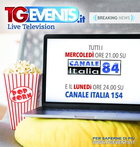 TGevents Television da oggi in onda anche sulla rete nazionale di Canale Italia 84