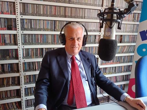 Il sindaco di Imperia Claudio Scajola ospite a Radio Onda Ligure 101