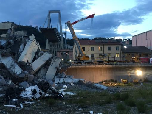 Crollo Ponte Morandi: il bilancio delle vittime sale a 38