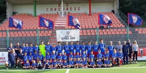 """Carcare ospita il """"Cagliari Summer Camp"""", il sindaco De Vecchi: """"Iniziativa positiva che conferma l'ospitalità del nostro territorio"""""""