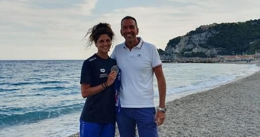 Nasce la partnership tra Area Marina Protetta di Bergeggi e la campionessa di nuoto sincronizzato Linda Cerruti