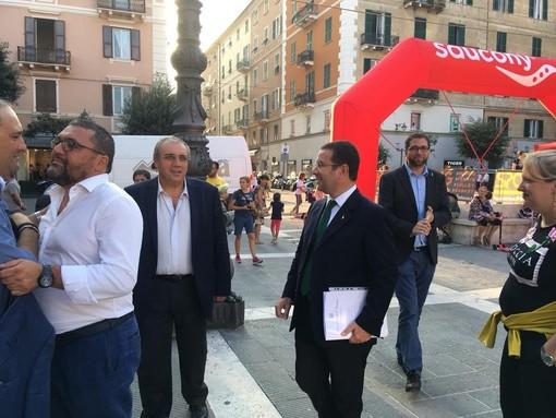 Savona, ieri una delegazione del SAP ha incontrato il sottosegretario e senatore Stefano Candiani