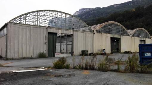 I capannoni destinati ad essere la nuova sede della FinaleAmbiente