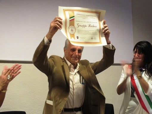 Balestrino, cittadinanza onoraria al generale dei carabinieri Giuseppe Richero
