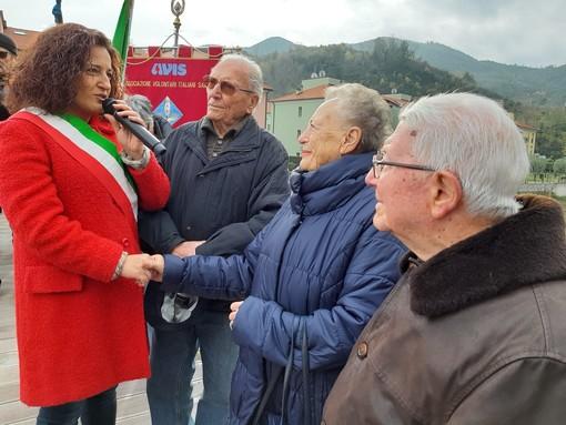 Vado, inaugurata la passerella che unisce una comunità e ricorda le staffette partigiane (FOTO e VIDEO)