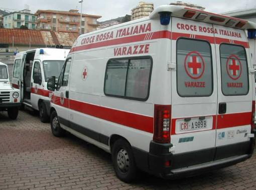 Incidente a Varazze: scooterista perde il controllo del mezzo