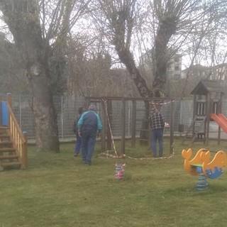 Dego ripristina l'area giardini delle scuole primarie e dell'infanzia (FOTO)