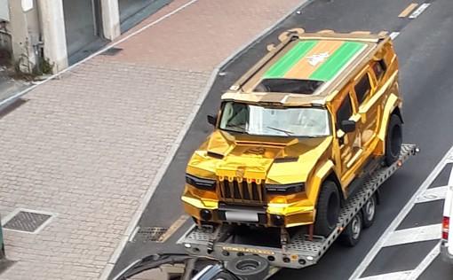 Albisola: nel traffico sull'Aurelia spunta una Dartz, modello extra lusso dalla Lettonia (FOTO)