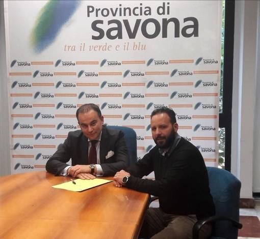 Protocollo d'Intesa tra Toirano e Provincia sulla messa in sicurezza dei tratti pericolosi di strada provinciale