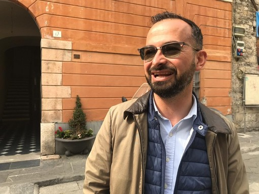 Diego Distilo, presidente del Consiglio comunale di Albenga