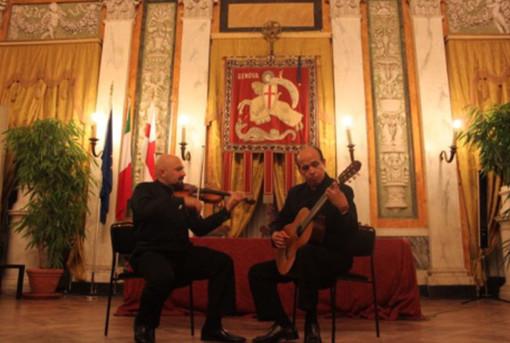 """Il """"Duo Paganini"""" in concerto a Noli"""