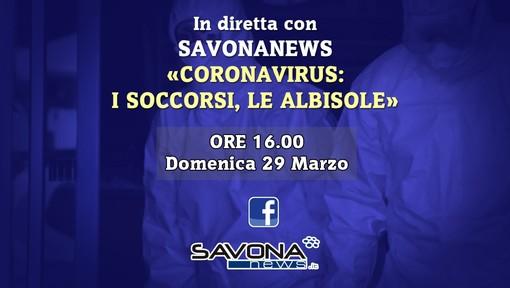 Coronavirus, un punto sui soccorsi e la situazione territoriale nelle Albisole: in diretta alle 16.00 su Facebook