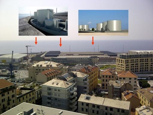 Deposito di bitume in porto a Savona: il no dei giovani dei Forza Italia