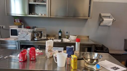 """Foto di apertura: la cucina di E.L.Fo.; in fotogallery: un """"viaggio"""" tra le varie aule specialistiche di E.L.Fo."""