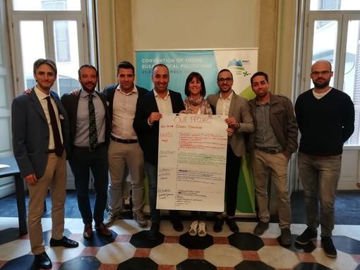 Pietra, l'assessore Pastorino alla convention dei giovani politici locali di EUSALP