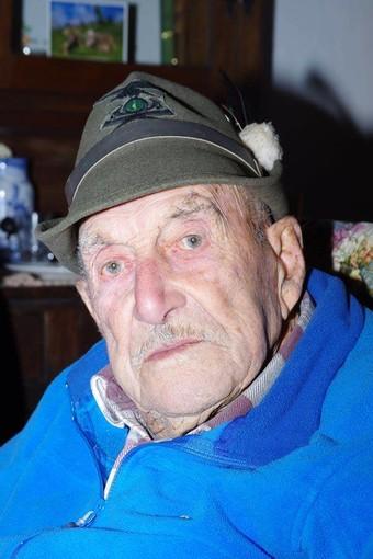 Plodio, lutto per la scomparsa dell'alpino Ernesto Prando
