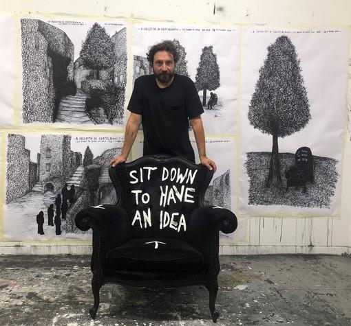 """""""Sit Down to Have an Idea"""" di Andrea Bianconi a Colletta di Castelbianco nel circuito de 'I Borghi più belli d'Italia'"""