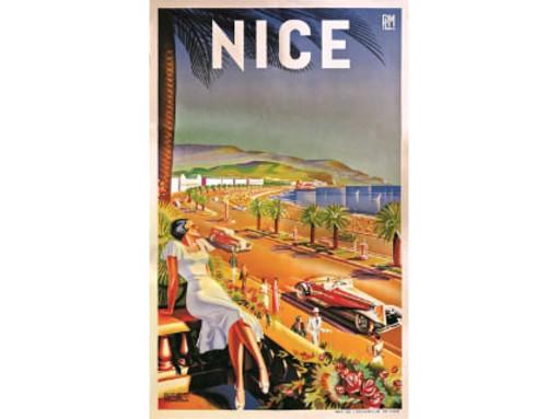 La storia di Nizza nelle immagini dell'artista che inseguiva le farfalle
