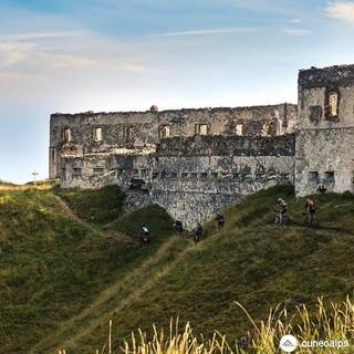 Limone Bike Night: sabato 18 luglio vista del tramonto nello spettacolare panorama dei Forti Sabaudi