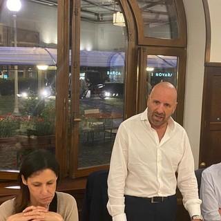 Il sindaco di Limone Piemonte Massimo Riberi a cena con il primo ministro monegasco Telle