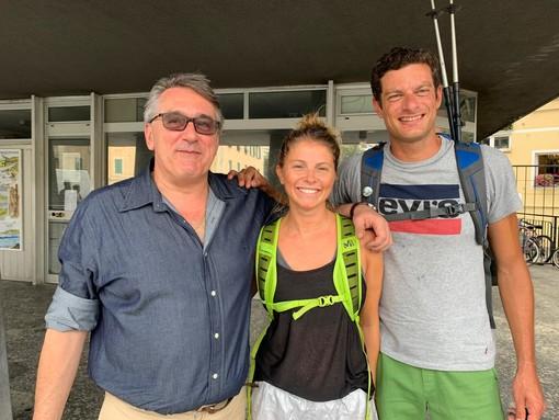 Francesca e Filippo: da Varazze a Milano a piedi per Dynamo Camp