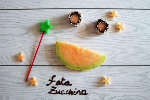 Felici & Veloci, la nuova ricetta di Fata Zucchina: sushi di melone