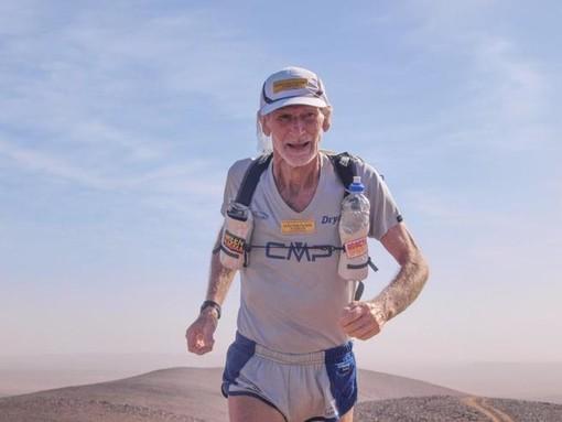 """Quiliano: il 21 febbraio """"Aperitivo con l'Atleta"""" in compagnia di Marco Olmo, leggenda di ultra trail e maratone"""