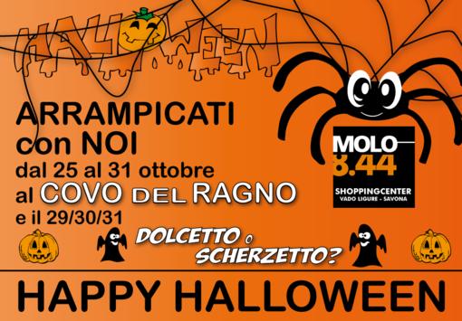 Happy Halloween allo shopping center Molo 8.44 di Vado Ligure: un'intera settimana di divertimento