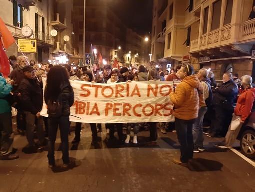 """Savona, Villapiana contro la decisione del Prefetto: """"La storia non cambia percorso"""" (FOTO e VIDEO)"""