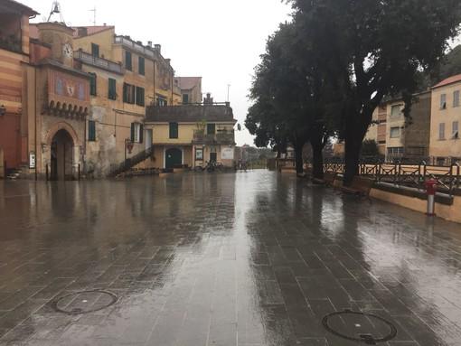 Piazza di Porta Testa a Finalborgo: quali rischi in caso di forti piogge?