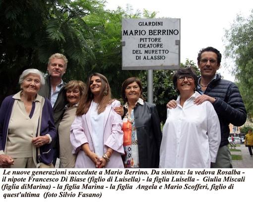 """Battesimo piovoso, battesimo fortunato: finalmente Alassio ha i suoi """"Giardini Mario Berrino"""" (FOTOgallery)"""