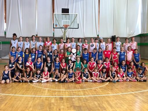 """Loano, successo per la """"Giornata Minibasket in Rosa: 7° compleanno della Pigotta Unicef"""""""