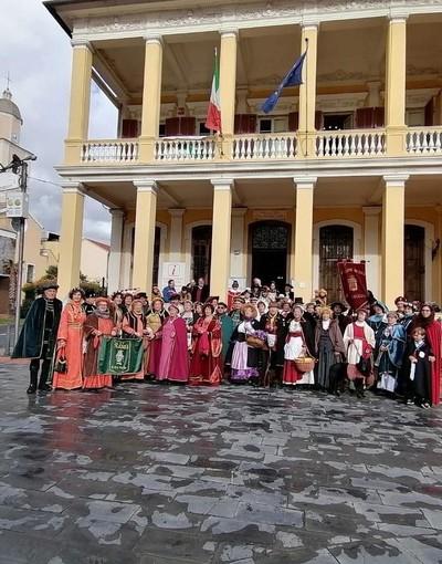 """""""Insieme per la Cultura"""": le maschere storiche italiane si incontrano a Borghetto Santo Spirito"""
