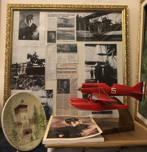 Gli auguri di caARTEiv con ebook e omaggio al centenario della nascita del capitano della regia aeronautica Vittorio Centurione Scotto