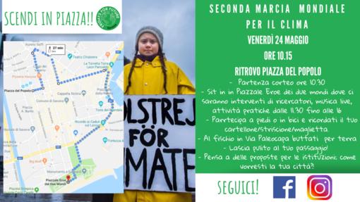Savona: nuova marcia in favore della consapevolezza sui cambiamenti climatici