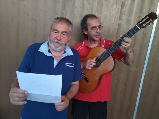 """Andora: con """"Stazionando"""" sul palco Nando Rizzo e l'attore Giorgio Caprile"""