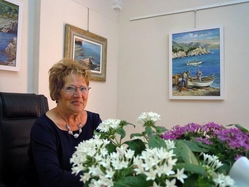 """Mostra Personale di Germana Corno a Varazze nella """"Gallery Malocello"""""""