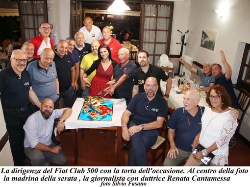 Auguri, 500! Il Fiat 500 Club Internazionale di Garlenda festeggia il 63esimo compleanno della celebre utilitaria