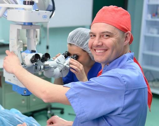 Dott. Gian Maria Venturino, responsabile scientifico dell'evento e direttore della S.C. Oculistica di Savona