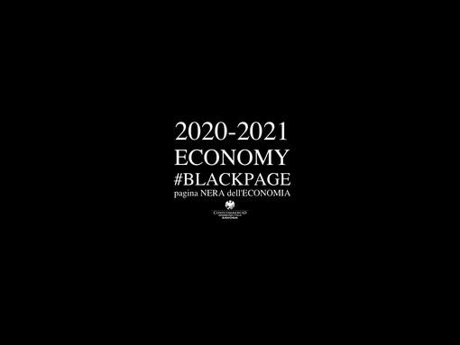 """Covid, una """"black page"""" per sottolineare l'anno di lutto dell'economia: l'iniziativa di Confcommercio Savona"""