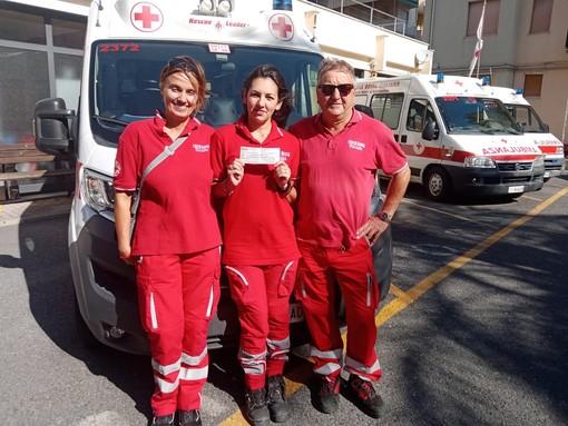50 mila euro alla CRI di Loano: una benefattrice s'informa sui costi delle ambulanze e poi stacca un maxi-assegno