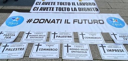 """Protesta del movimento Italia Unita a Genova, Nappi: """"I cittadini dovrebbero riacquistare maggior amor proprio"""""""
