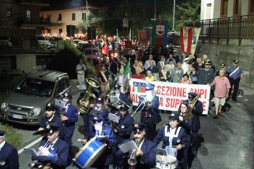 Ieri a Stella la tradizionale fiaccolata in ricordo del Presidente della Repubblica Sandro Pertini (FOTO)