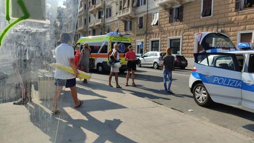 Donna investita in corso Vittorio Veneto a Savona: codice giallo al San Paolo (FOTO)