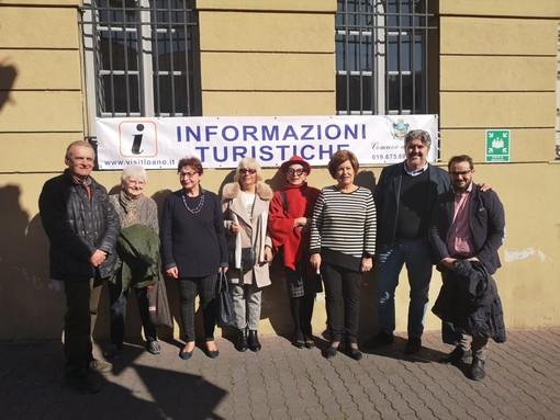 """Loano, inaugurato il nuovo ufficio Iat affidato alla Pro Loco. L'assessore Zaccaria: """"Un ufficio accessibile a tutti"""" (FOTO e VIDEO)"""
