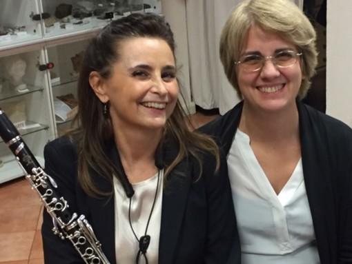 Il duo Battistessa e Rigano al Casino di Lettura di via Paleocapa a Savona