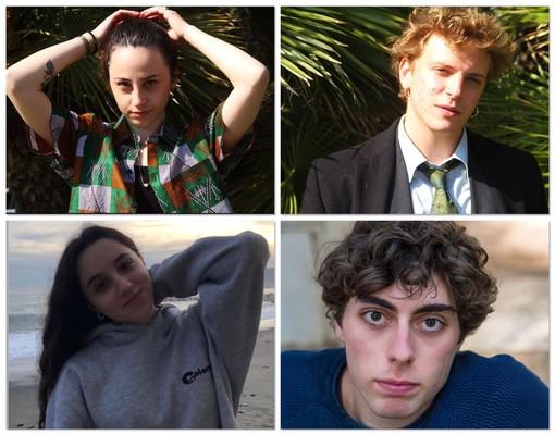 Nelle foto Iacopo Ferro, Lorenzo Vio, Gaia Capelli e Caterina Bussa