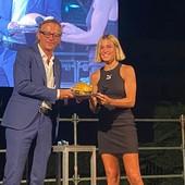 Albenga, festa grande per Luminosa Bogliolo: la campionessa azzurra ha ricevuto il premio Emys Award (FOTO e VIDEO)